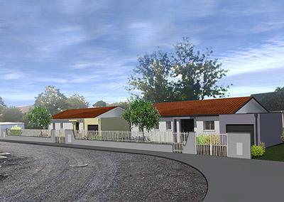 Groupement d'habitations