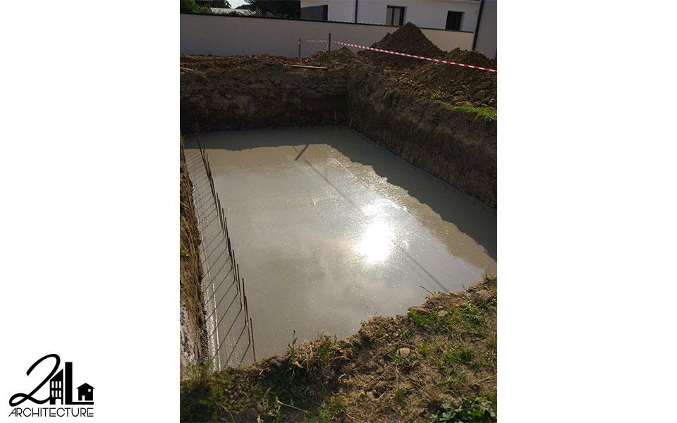 Aménagement d'une piscine et terrasse par 2L Architecture