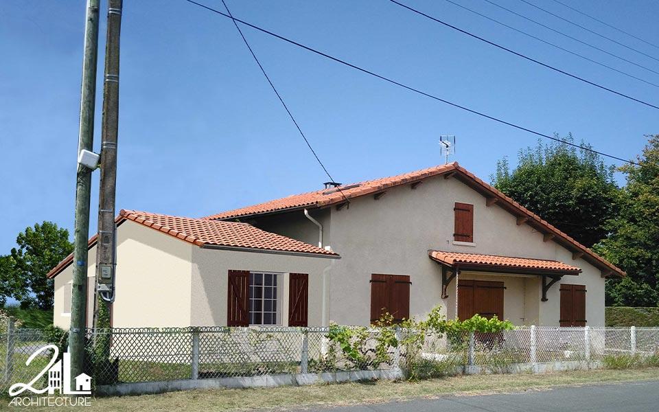 Extension d'une maison familiale