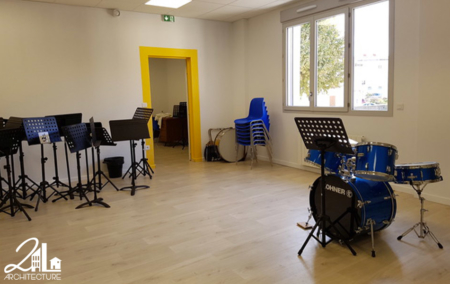 Rénovation d'une école de musique