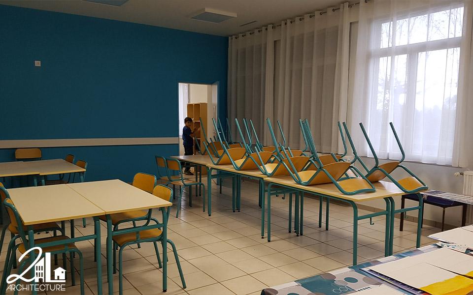 Réhabilitation d'une école