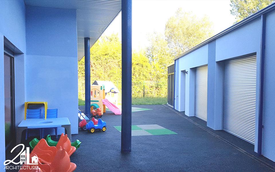 Réhabilitation de la Maison de la Petite Enfance
