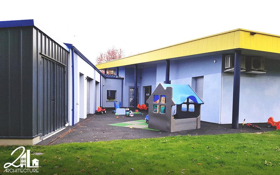 Réhabilitation de la Maison de la Petite Enfance : agrandissement, réhabilitation de crèche - halte garderie