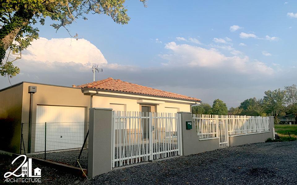 Groupement d'habitations : Construction de 12 villas par 2L Architecture